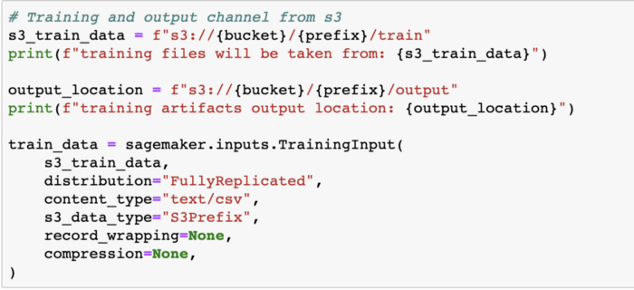 Training and Output Channel