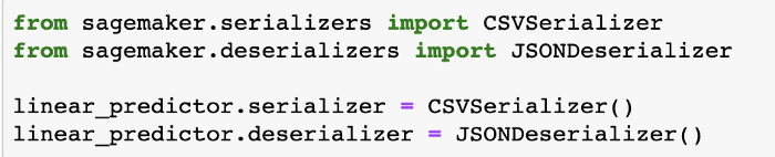 Output in CSV and Json
