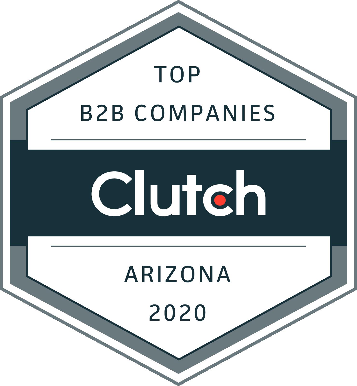 Clutch Awards Arizona 2020 Logo