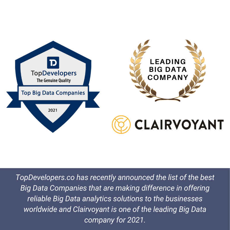 TopDevelopers Clairvoyant Announcement